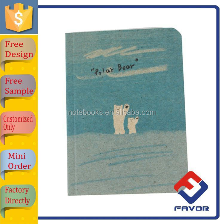 gift for student cute childrens exercise book with paper cover