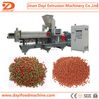 Double screw extruded dog fish cat feed snacks food process equipment machines line Jinan DAYI machinery