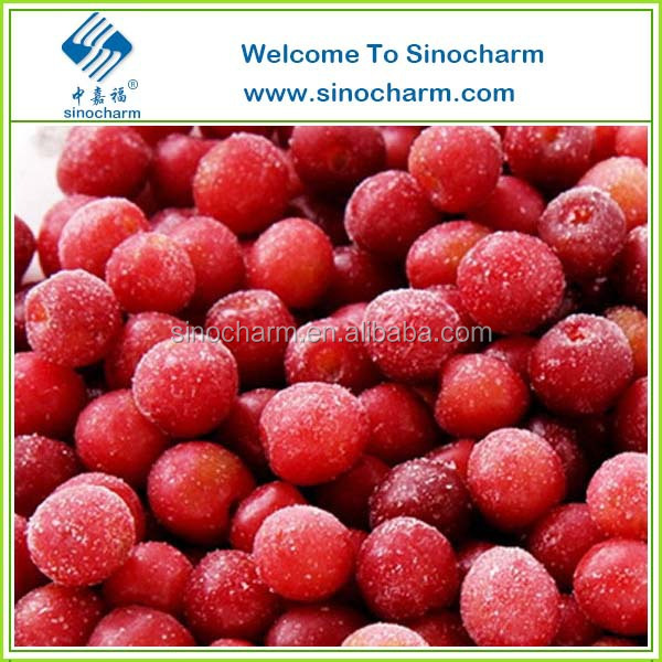 10kg Bulk Package Frozen Sour Cherry