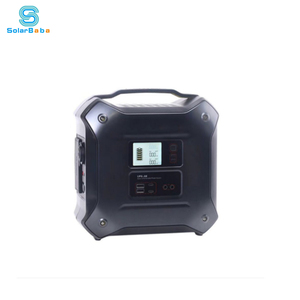 500w all in one lithium battery pure sine wave inverter portable solar power generator energy system for home use