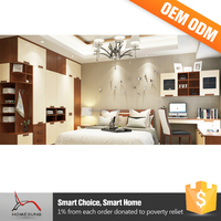 Wood White Cheap Fancy Bedroom Furniture Sets