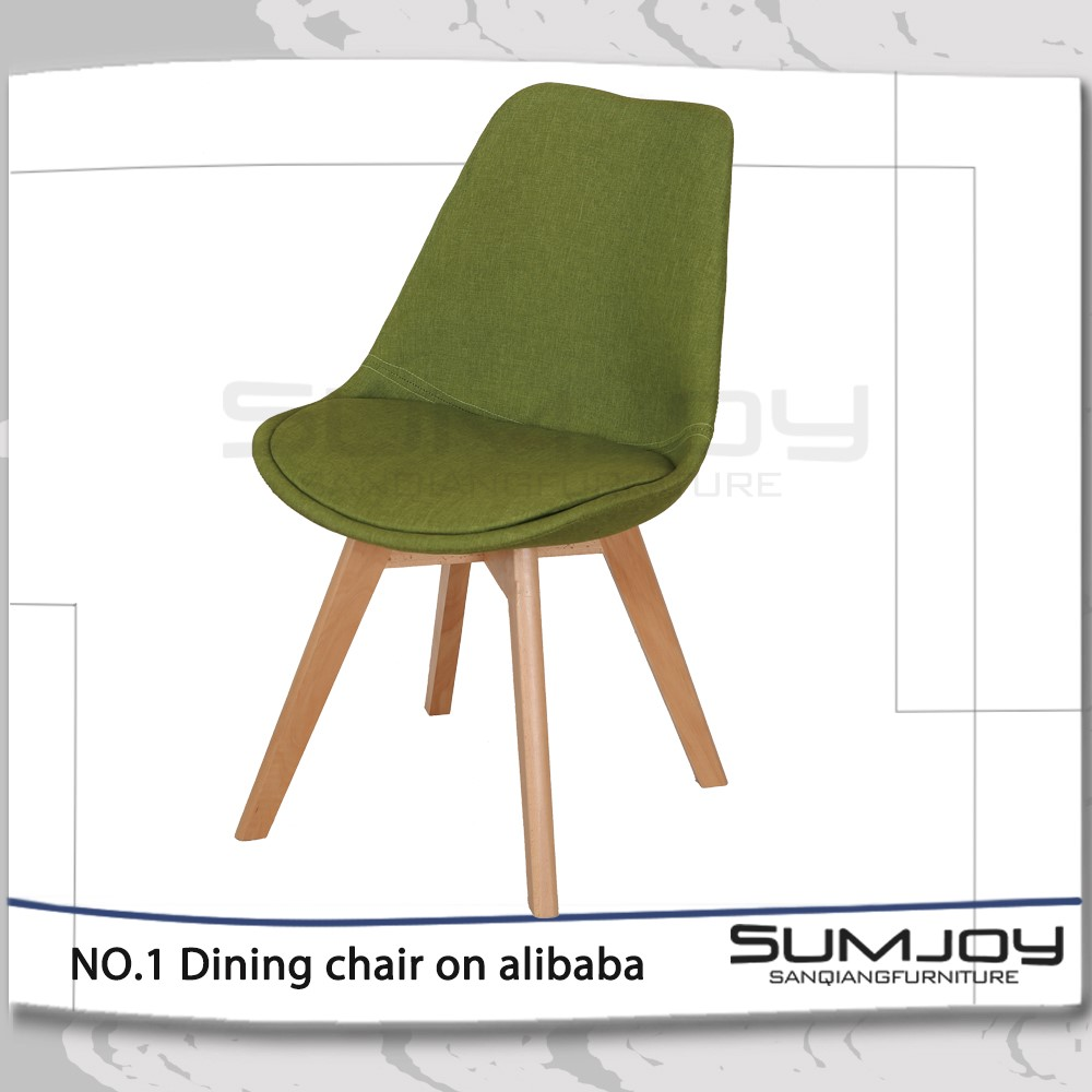 Modern wooden cafe chairs - Modern Designed Plastic Bar Chair Cafe Chair With Wood Leg