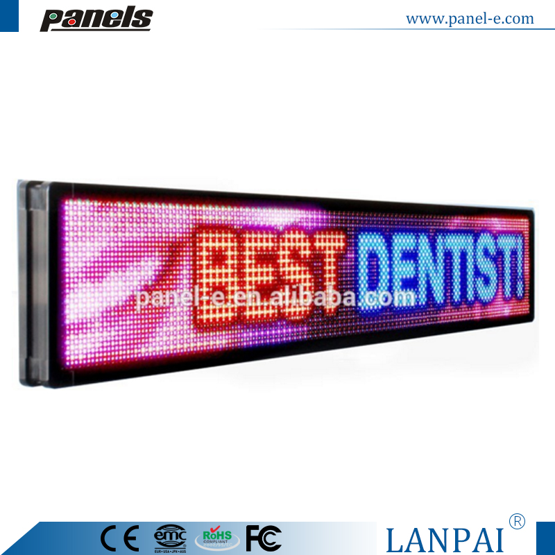 outdoor colorful led advertising screen display for dentist
