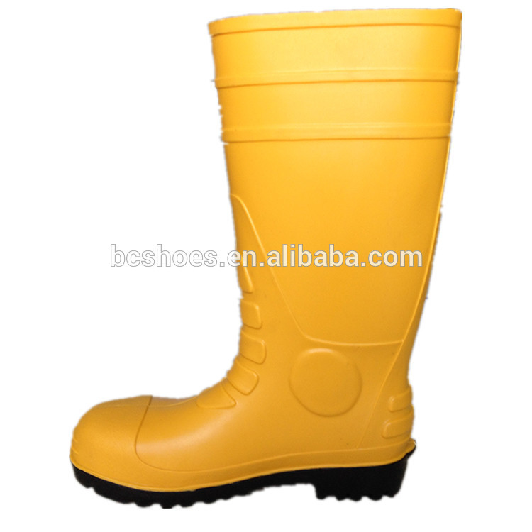 Heated Work Boots Gum Boots/cheap Pvc Rain Boots Without Steel Toe ...