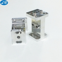 Custom high precision cnc milling machined aluminum machinery parts and components
