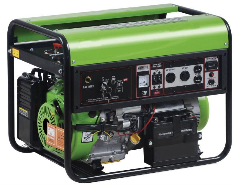 Газовые генераторы в картинках
