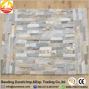 Hot sell multicolored slate ledge stone panel with high quality
