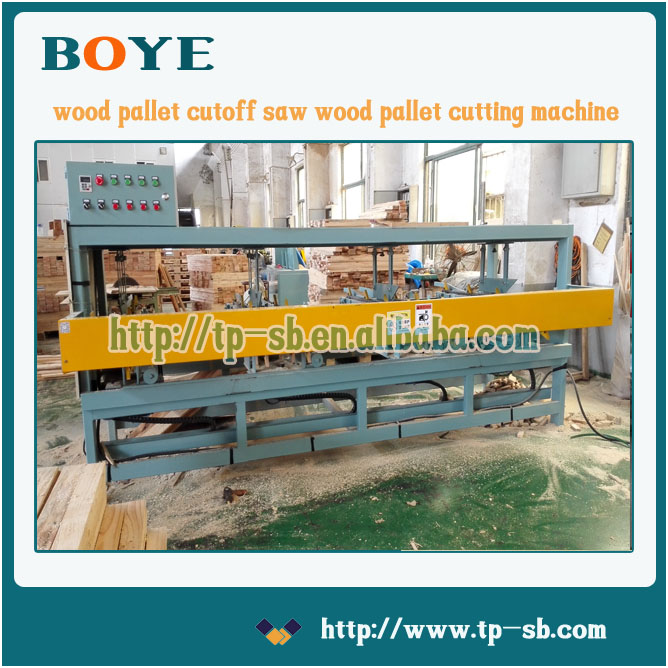wood pallet board fix rule and cutting machine 2016 the latest version, can customize according to customer's different demands