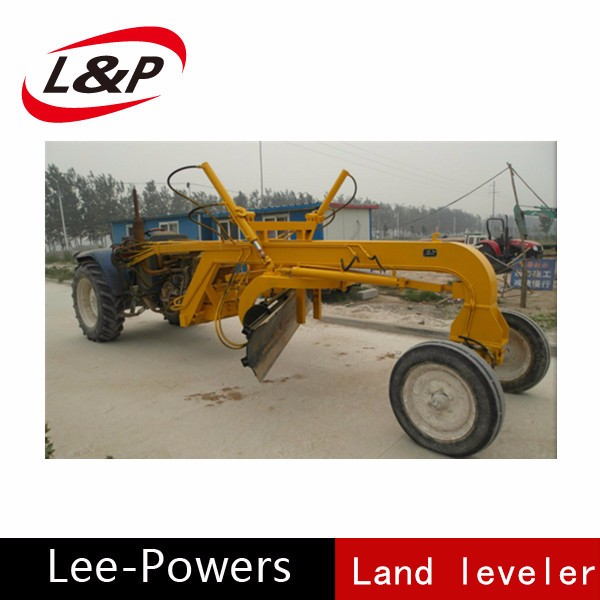 high efficiency land leveler for tractor auto leveling scraper