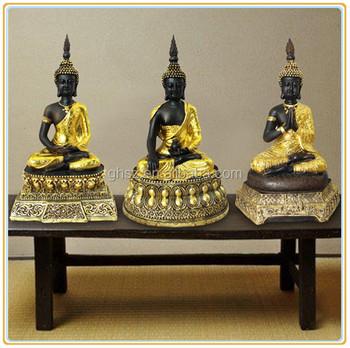 Customized Factory Price Businese Gift Resin Thai Buddha Statue ...