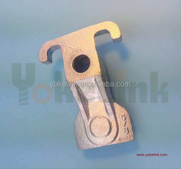 Ductile Iron Steel Guy Hook For Transmission Line <strong>Hardware</strong>