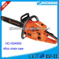gasoline chain saw not electric long pole chain saw