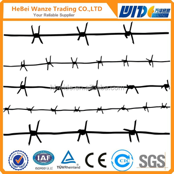 Gi Barbed Wire,14 Gauge Gi Barbed Wire,Prison Barbed Wire Fence By Tuv  Rheinland - Buy Gi Barbed Wire/14 Gauge Gi Barbed Wire/prison Barbed Wire  Fence