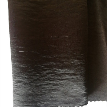Wholesale 75D/144F(150D/288F)*300D/288F Wrinkle&Crepe&Crinkle Air Cylinder Dyed Satin And Sateen Fabric