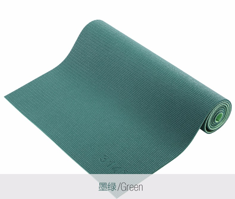 Double color fashion style <strong>eco</strong> friendly OEM welcomed PVC yoga mat
