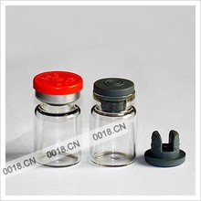 7ml injection glass vial with flip-off cap and butyl rubber stopper