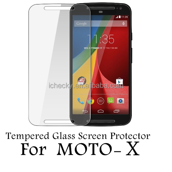 High Transparent Glass Screen Protect Film for Moto X [ICHECKEY]Shenzhen Manufacture
