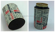 customized printing neoprene beer can cooler,stubby holder