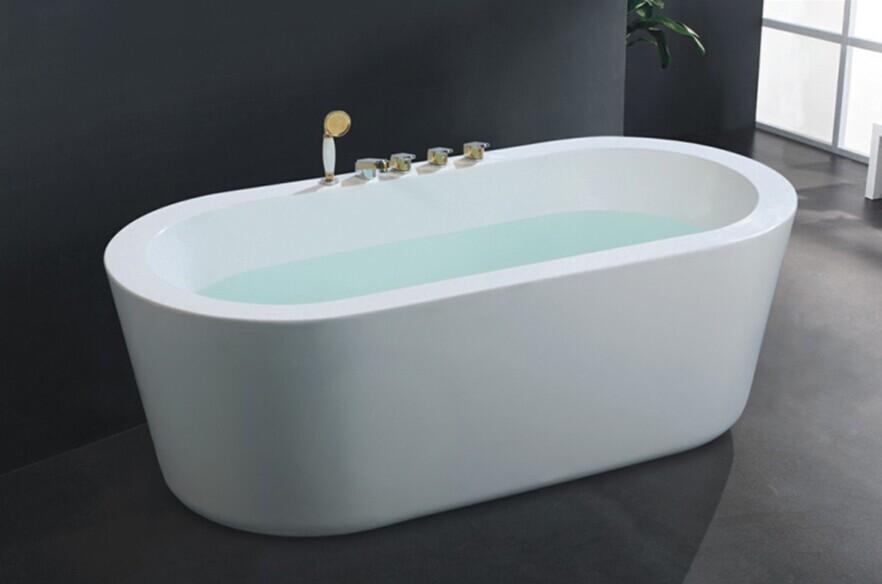 Free Standing Elliptical Bathtub/kerala Bathtub/japanese Soaking Tub ...