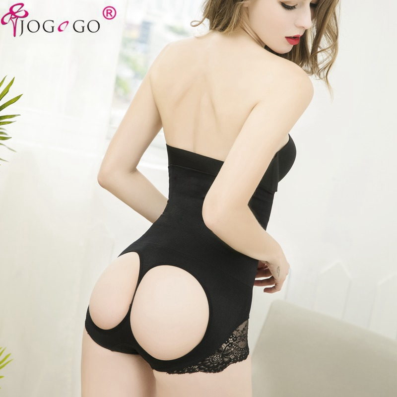 Cotton Butt Lift Panties High Waist Trainer Thong Shape wear Body Shaper Enhance Panties