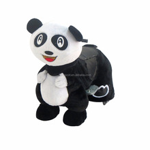 HI CE standard simulation panda electric scooter kiddie ride parts