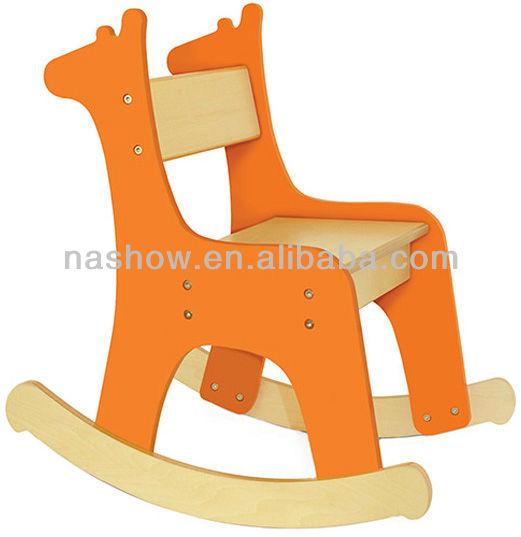 Silla mecedora de madera para ni os sillas para ni os - Mecedora para ninos ...