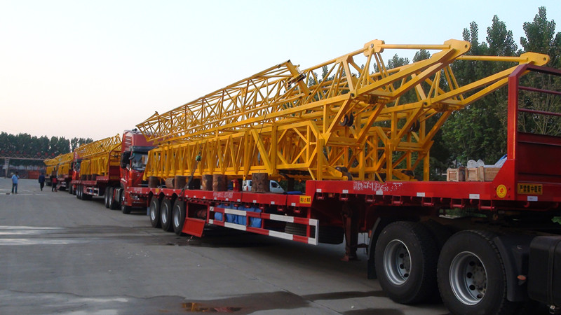 QTK20 fast erecting tower crane