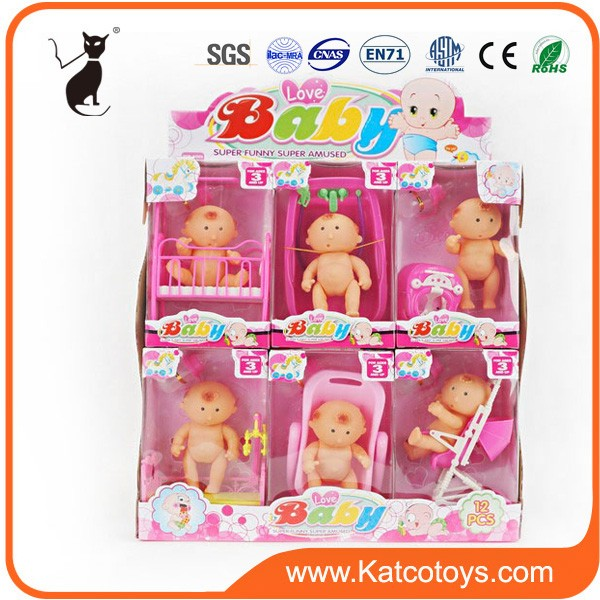 Best gift toys facial expression cheap baby doll wholesaler