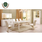White painting dining room furniture sets with dining table