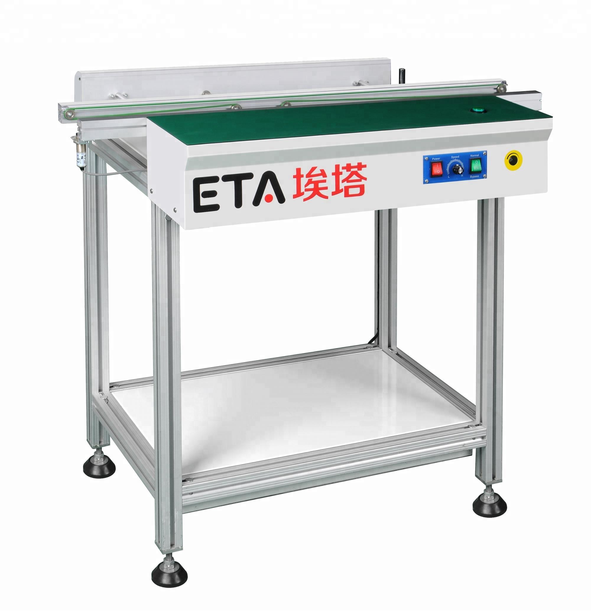 Full-automatic S28 SMT Stacker Conveyor Belt,SMD PCB Flexlink Inspection Conveyor System for Sale