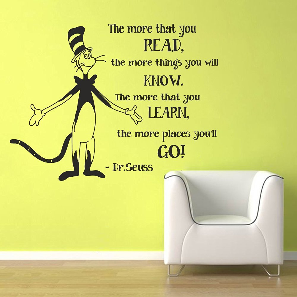 Dr Seuss Vinyl Wall Quotes Find