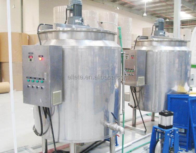 電気 PVA 接着剤ミキサー機