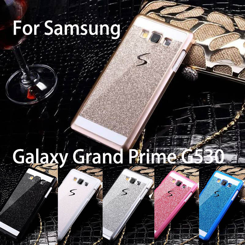 the latest 8c674 f203a Hot Bling Luxury phone case for Samsung Galaxy Grand Prime G530 G530H  Shinning back cover Sparkling case for G530 Free Shipping