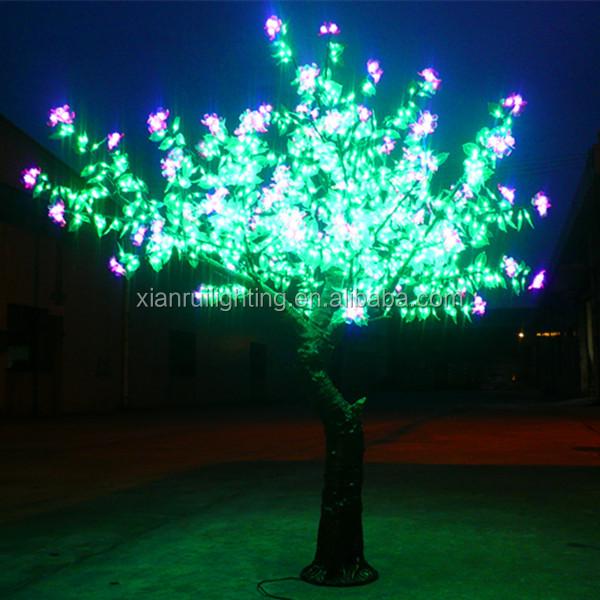 Decoracion iluminaci n led rbol de acacia iluminaci n for Iluminacion para arboles