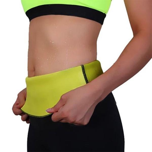 7ffa6861819a3 Gym Neoprene Body Shaper Sauna Slimming Abdomen Belly Belt Fit Sweat Waist  belt for women fitness