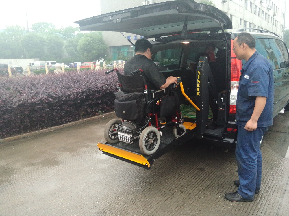 WL-D -880U Hydraulic wheelchair lift and ramps for vehicles for disabled people