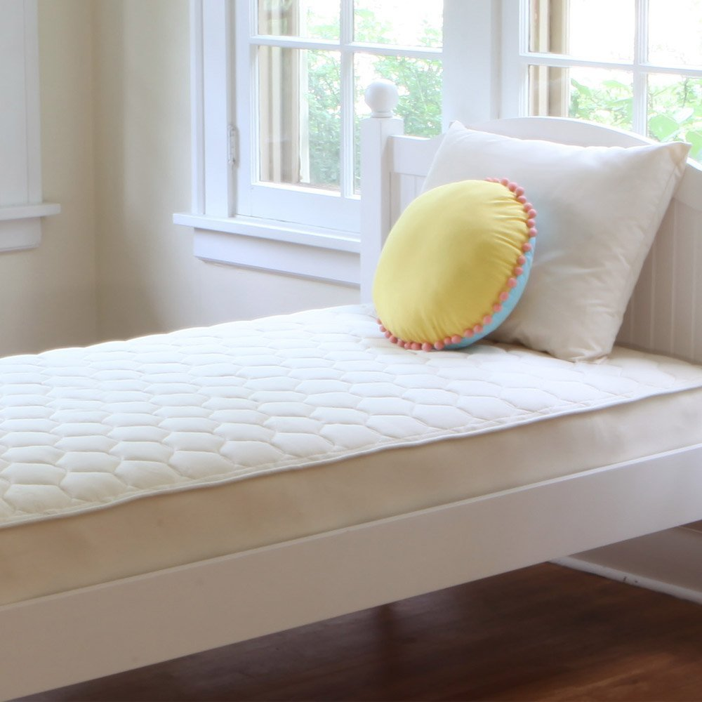 "Naturepedic Organic Cotton Quilted Deluxe 2-Sided Mattress - Twin - 38"" 75"" x 10"""