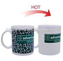 Creative Temperature off on Switch Color Changing Mug/Magical Ceramic Cups/coffe