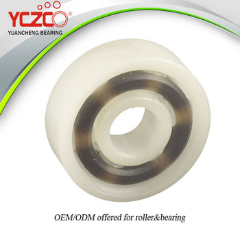 YCZCO sliding patio door roller nylon roller for sliding door
