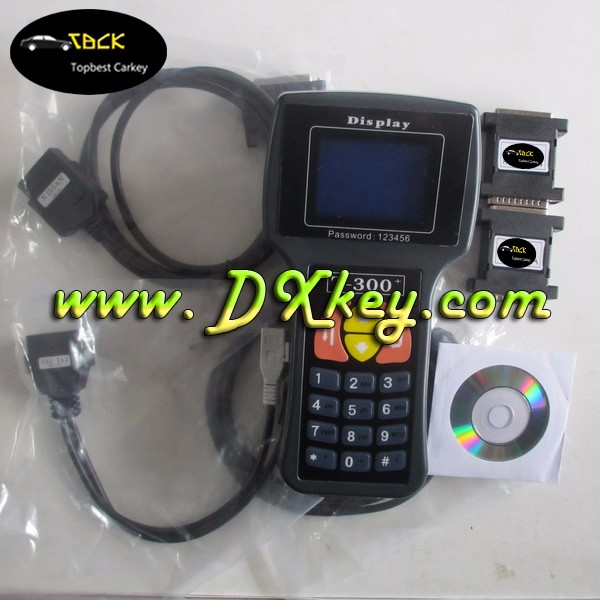 Hot selling T code pro T300 car key programmer with latest version 9.9