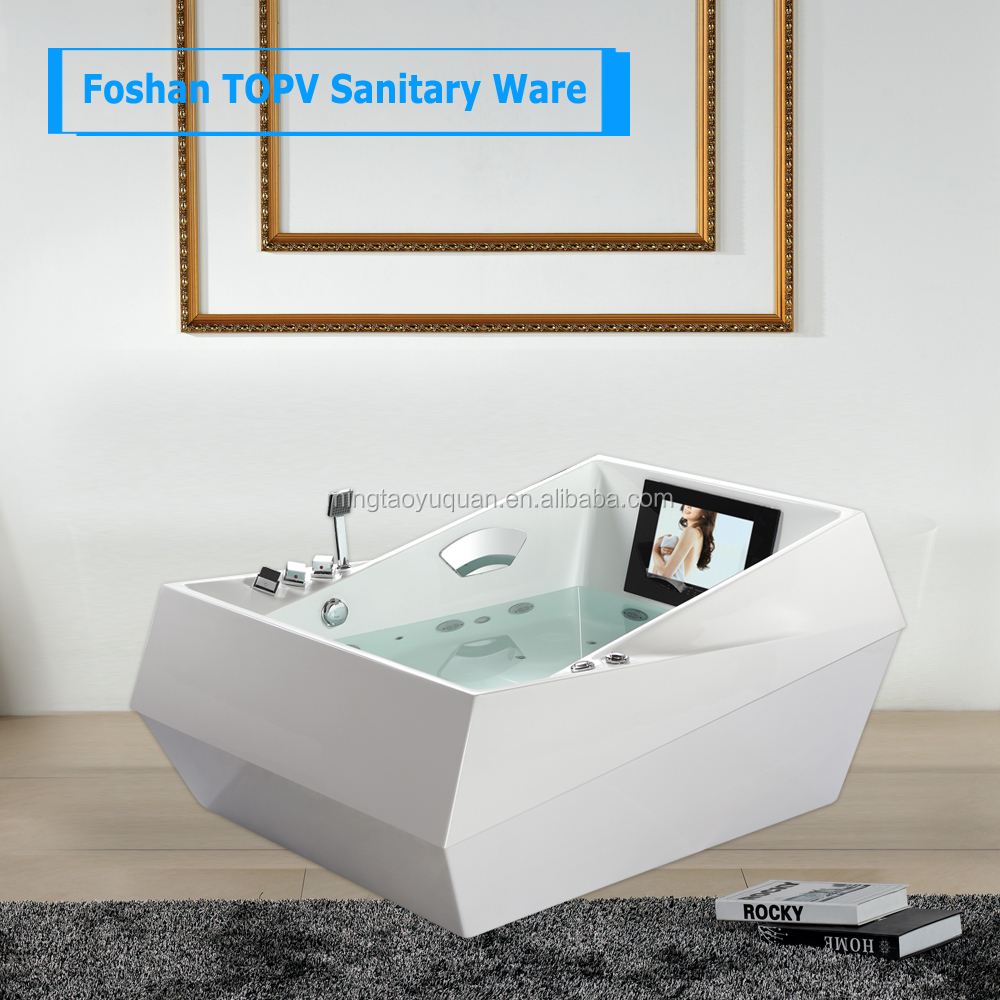 Hydromassage Bathtub / 2 Person Spa Bath / Freestanding Bath Tub ...