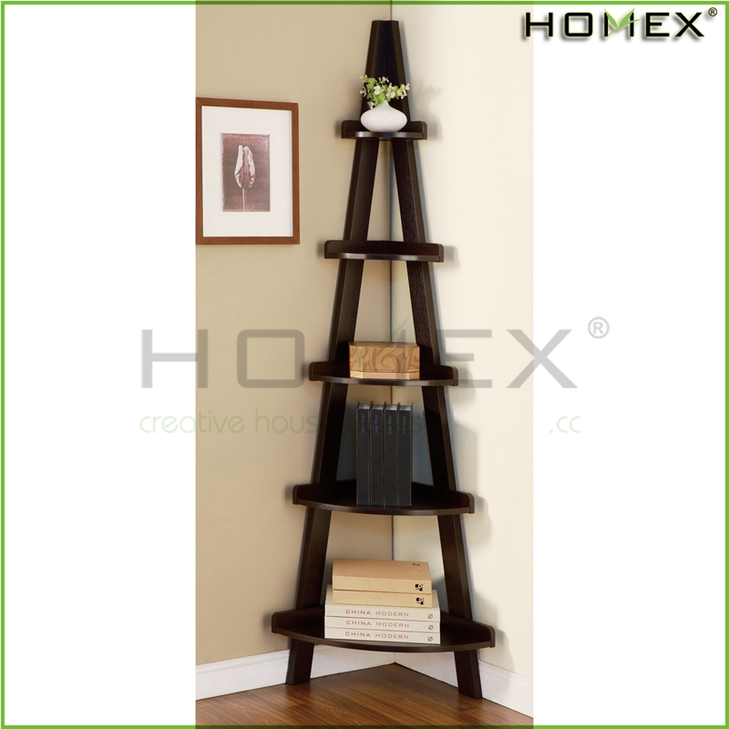 Wall corner tree shaped bookshelf Homex_FSC BSCI