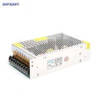 Sompom Single Output CE ROHS Certification AC 220 To DC SMPS 18V 180W 10A Switching Power Supply