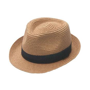 e7b1f7dc BSCI & Sedex Audit paper straw material fedora hat straw promotional