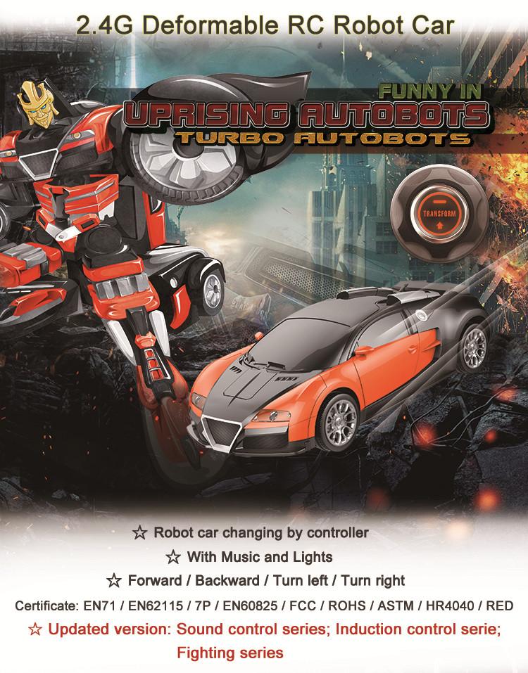 Déformer Jouets Prix Voiture Robot Télécommande 4x4 Usine Guangzhou nwP8k0O