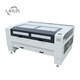 CW5000 Up-down table auto focus red dot pointer position 100w hot sale acrylic laser cutting machine 1390