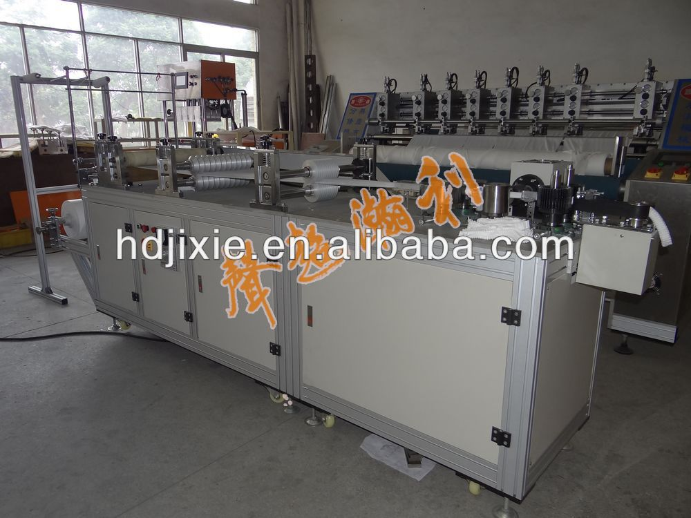 Automatic Non woven Medical Cap Making Machine