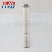 Special design for rubber Industrial air dust collector seal spun polypropylene 5 micron cartridge filter
