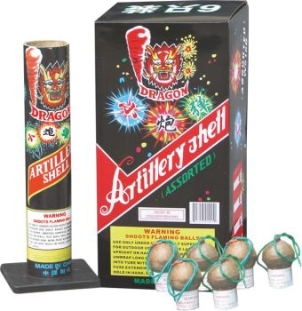 "1.75"" w515b whistling artillery shells CE approved fireworks for display"