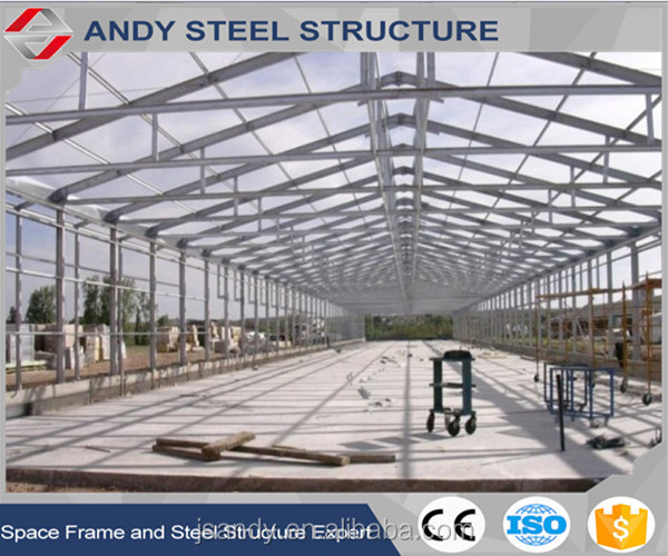 Hot Sale! New Product Construction Morden Design Low Cost Poultry Farm Steel Structure Shed